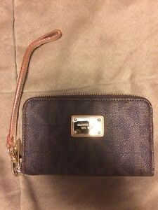 Gently used Michael Kors wristlet
