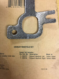 Dodge 4.7L Exhaust manifold and gasket