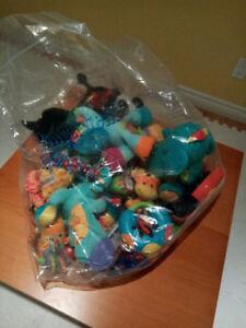 3x sacs jouets bébé