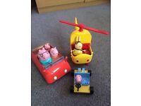(SOLD) Peppa Pig Vehicle Set