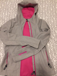 Bench - Light Grey/Pink Hooded Jacket - Like New!