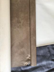 GUC brown/taupe verticle blinds....patio door.