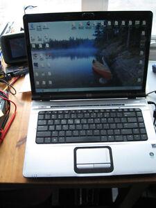 HP DV6000 Dual Core Entertaiment Laptop, GeForce, Windows 7