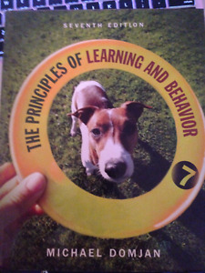 The Principles of Learning and Behavior - Domjan 7th Ed.