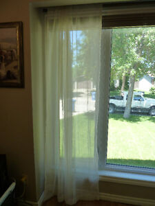 Off white Sheer Curtains (4)