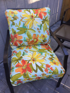 Two sets of Outside cushion covers