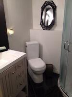 fully furnished, room with washroom