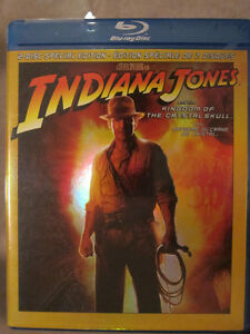 Indiana Jones Kingdom of the Crystal Skull Blu-Ray Special Ed.