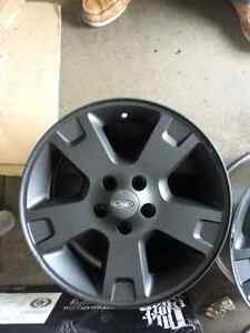 "17"" Factory Ford Escape/Edge Wheels - Plastidipped Black"