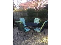 Garden Furniture - Table and Chairs