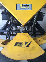 Fisher EZ -V snow plow 9' 6""