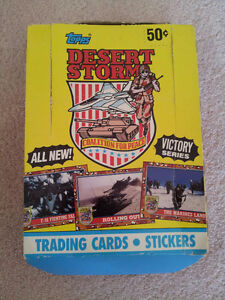 Topps Desert Storm Trading Cards 1991 Series 2 (Victory Series)