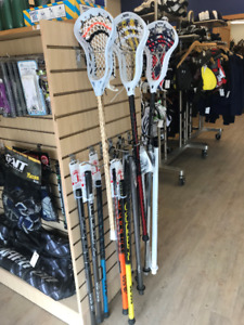 New and Gently Used Lacrosse Equipment
