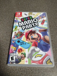 Super Mario Party (Switch) - (SOLD)