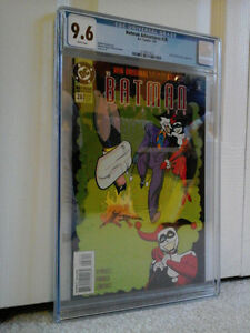 HARLEY QUINN - JOKER - BATMAN ADVENTURES #28 - CGC 9.6 - CHEAP!