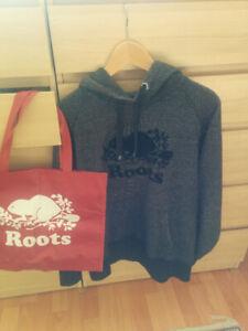 Roots Hoodie Men size M