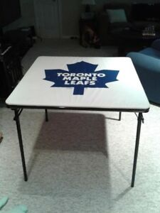 Toronto Maple Leaf Card Table