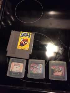 Game gear games / nes