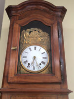 Grandfather Clock Antique French