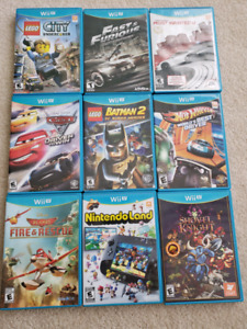 Game for Wii u 200$ all or 25$ per one.