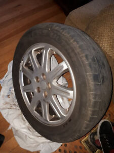 Set of 4 Cooper Tires and Rims