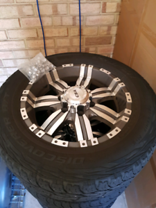 4X4 CSA ALLOY RIMS WITH COOPERS 17 INCH