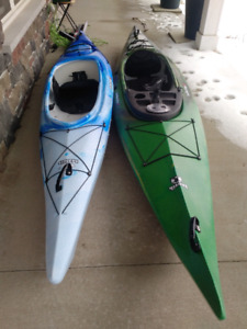 2 kayaks brand new clearwater design