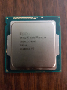 Intel Core i3 4170 CPU only