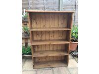 Rustic shelving unit - bookcase, kitchen unit