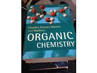 Chemistry University Textbooks and Model Kit