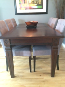 (Just reduced!) Solid Mahogany Wood Dining Table
