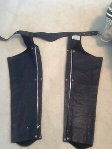 Men's heavy duty motorcycle chaps Stratford Kitchener Area image 2