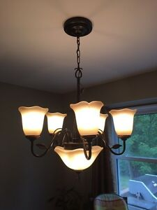Chandelier dining room light fixture