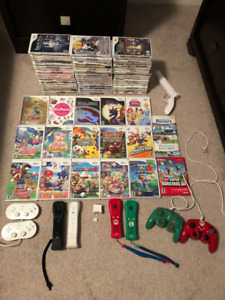 Bunch of Nintendo Wii games