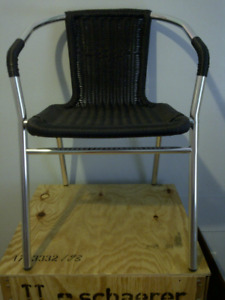 Two Bistro Patio Chairs for $60
