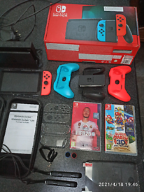 Nintendo switch game console bundle