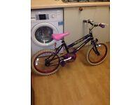 "Girls bike 18"" wheels age 5 upwards"