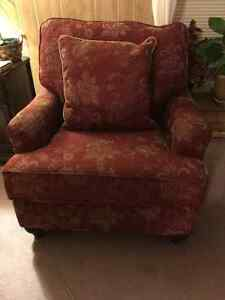 RED BOWRING CHAIR