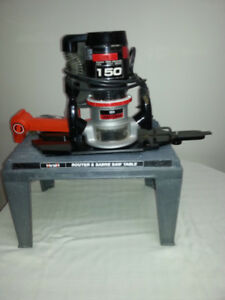 Wood router, brand new condition, never used