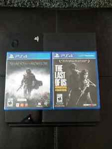 PS4 2games 1controller $325