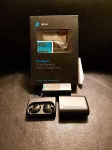 Bragi dash wireless headphones mp3 and fitness tracker