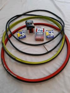 Michelin Pro Race 4, tubes et guidoline