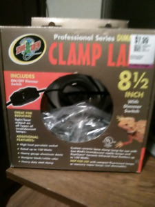 Brand new in box pro heat lamp for terrariums