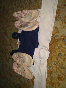 ballet shoes and legging etc