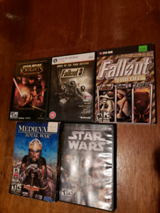 PC Games (Star Wars, Fallout, Total War, Company of Heroes)