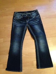 Silver jeans 30 x 28 inseam