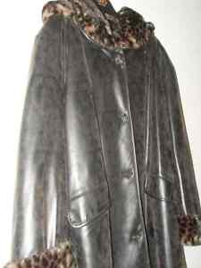 3/4 length brown jacket size 2X