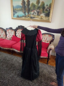 Costume de vampire fille neuf