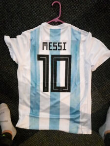 2018 Argentina World Cup jersey (Messi)