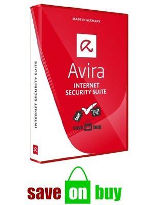 Avira Internet Security 2018   1 Year   1 User   1 Pc  Windows  With Usb